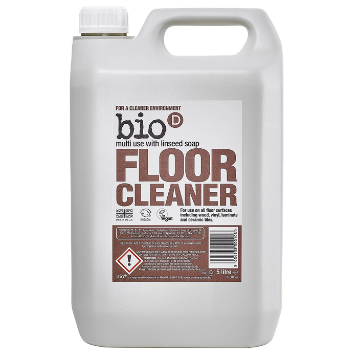 Bio D Floor Cleaner with Linseed Soap 5L (4 pcs)