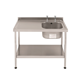 Sissons Stainless Steel Sinks : Franke Sissons Self Assembly Stainless Steel Sink Right Hand Bowl ...