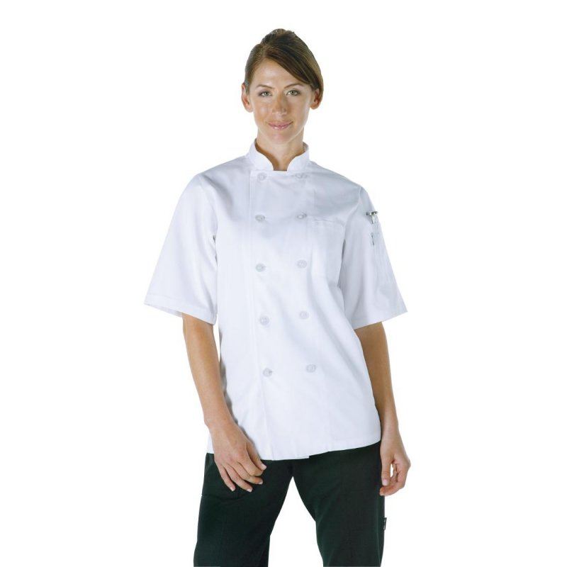 Chef Works Unisex Volnay Chefs Jacket White M