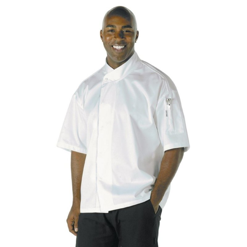 Chef Works Unisex Tours Cool Vent Executive Chefs Jacket L