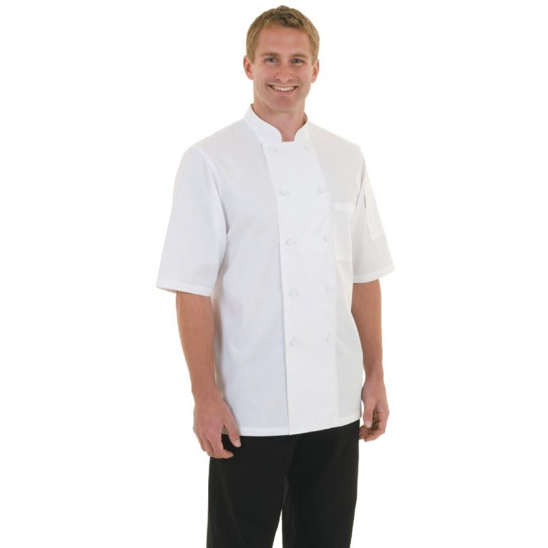 Chef Works Montreal Cool Vent Unisex Chefs Jacket White S