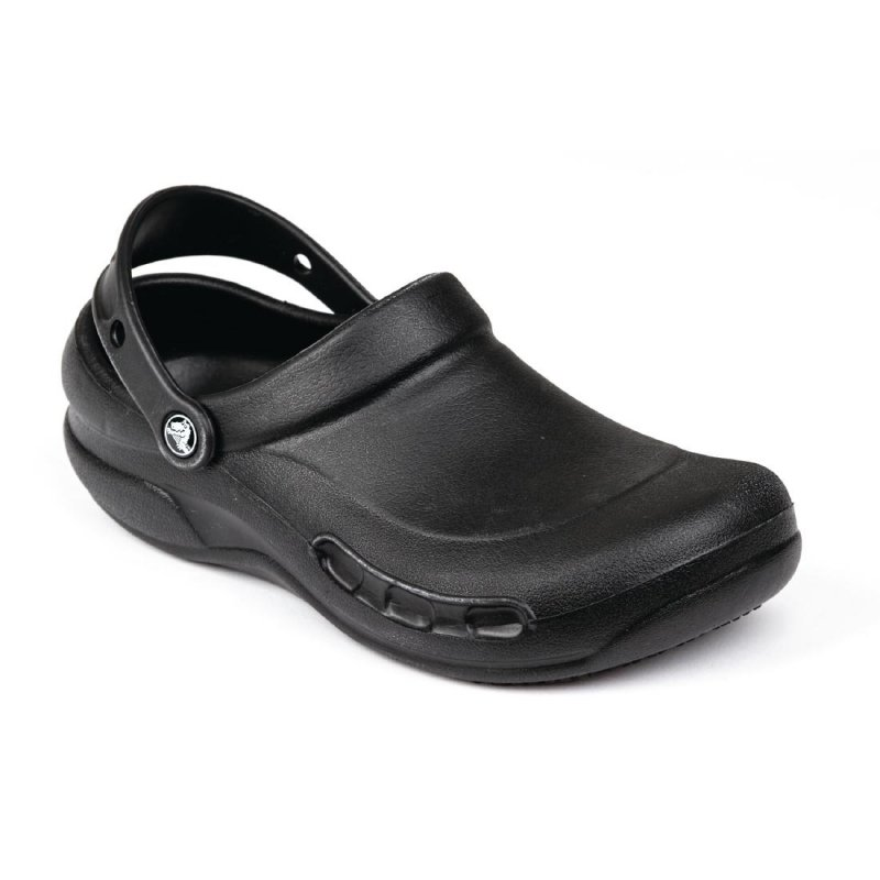 Crocs Black Bistro Clogs 48