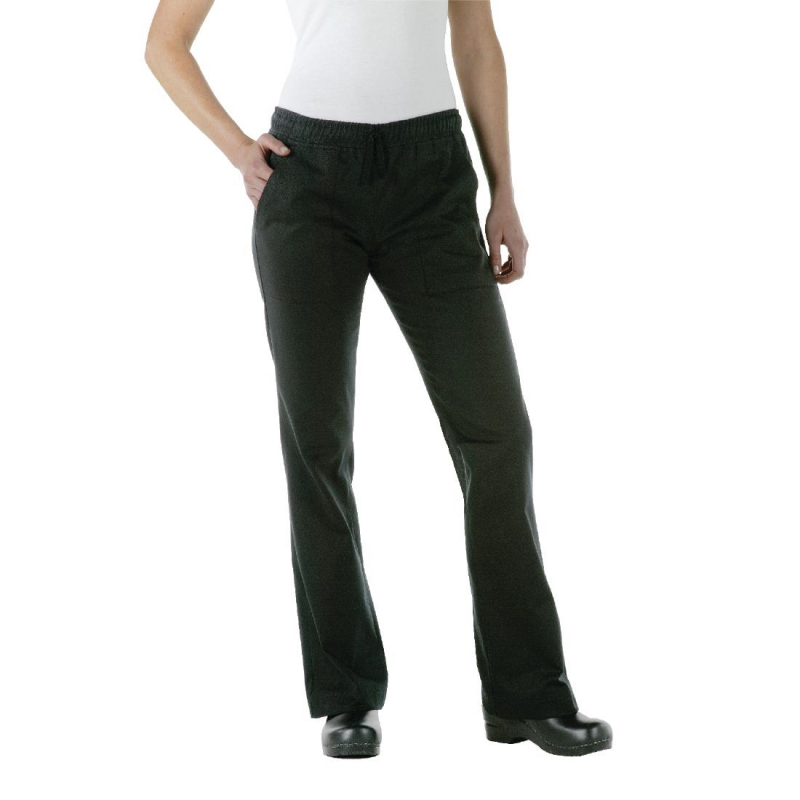 Chef Works Womens Executive Chef Trousers Black S