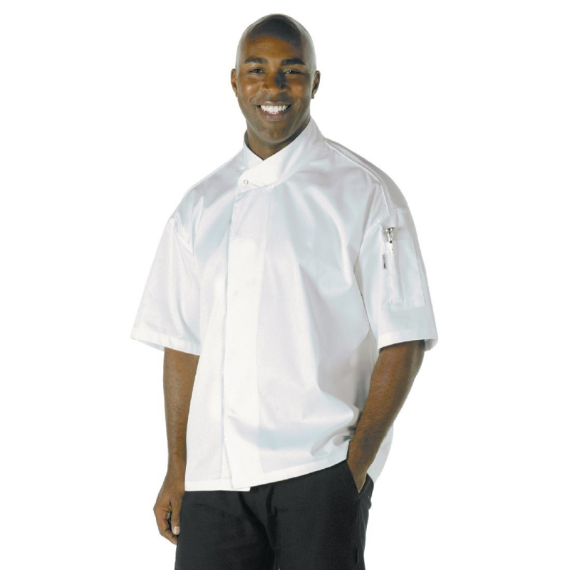 Chef Works Unisex Tours Cool Vent Executive Chefs Jacket 2XL