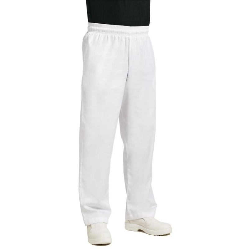 Chef Works Essential Baggy Pants White XS