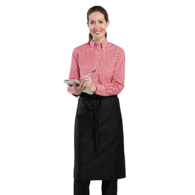 Chef Works Womens Gingham Shirt Red XL