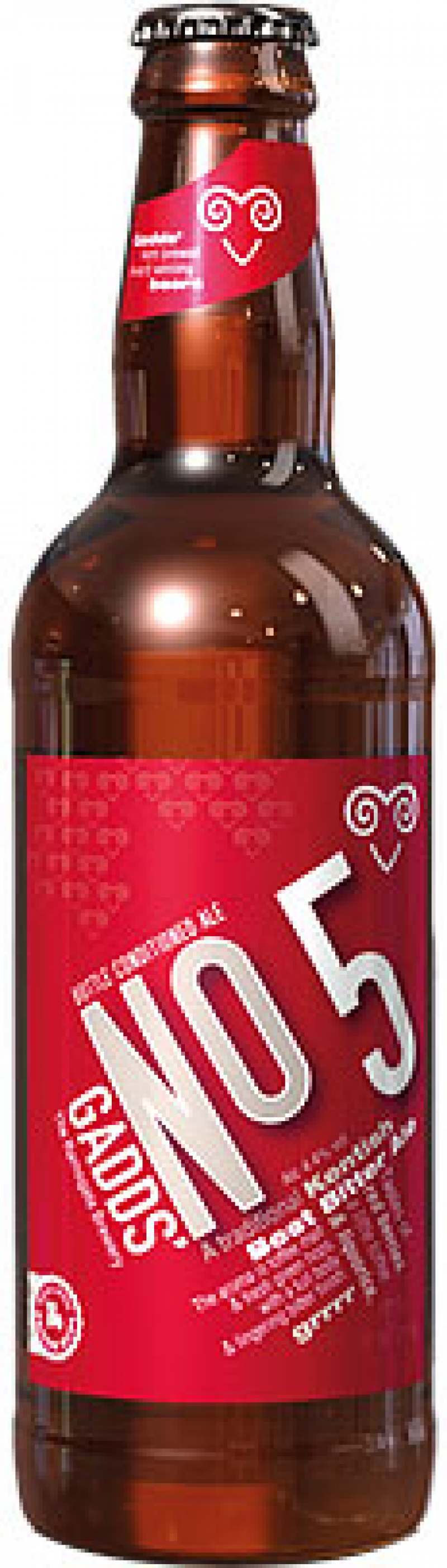 Gadds - No 5 Best Bitter Ale (12x 500ml Bottles)