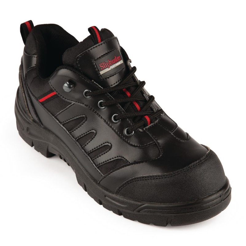 Slipbuster Unisex Safety Trainer Black 39