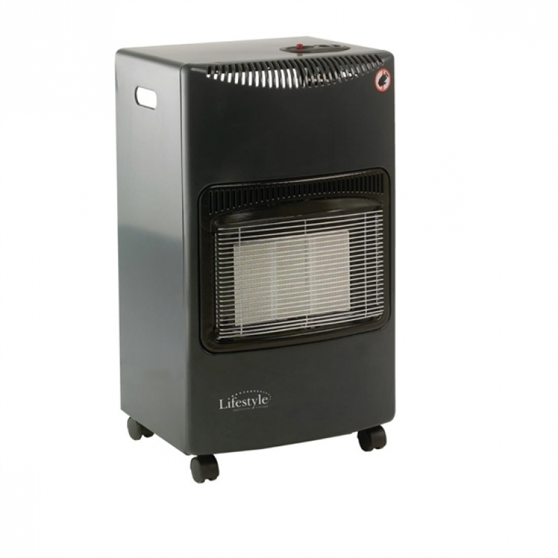 Lifestyle Seasons Warmth Radiant Cabinet Heater Grey