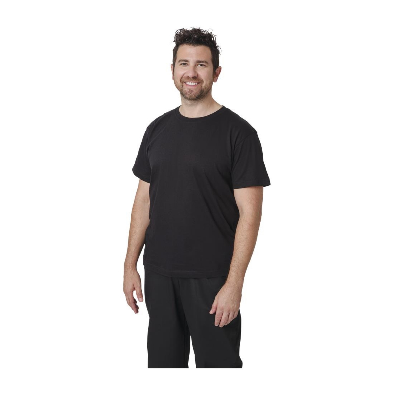Unisex Chef T-Shirt Black M