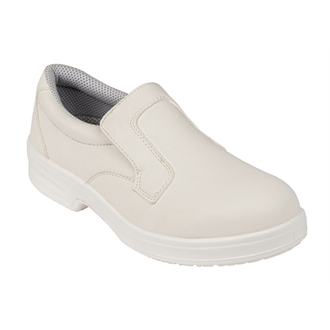 Lites Unisex Safety Slip On White Size 45