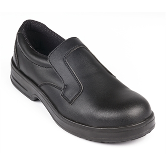 Lites Safety Slip On Black 42